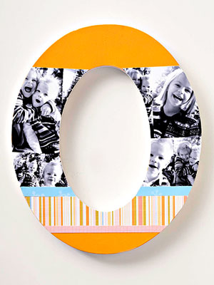 letter photo monogram