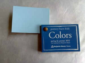 Color chosen after going to the PBK store - that was easy!