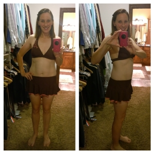Goodbye, lovely swimsuit... the only swimsuit I've ever truly loved.  :(