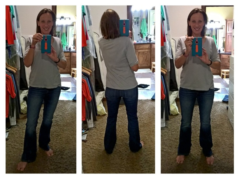 Gap Long and Lean, size 27, no idea on the wash/color. Regular length. $52-ish