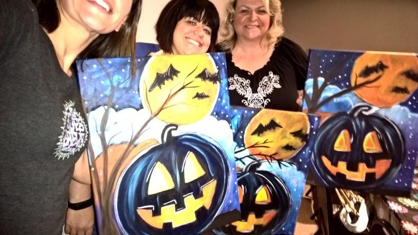 Pumpkin Paint 2